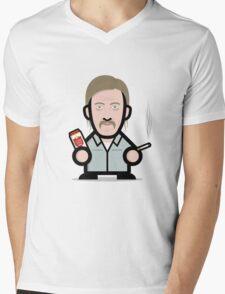 RUST COHLE Mens V-Neck T-Shirt