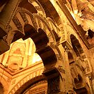 mezquita arches by Kent Tisher