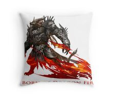 Guild Wars 2 - Born of Dragon Fire Throw Pillow