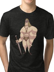 Conan the Manchild Tri-blend T-Shirt