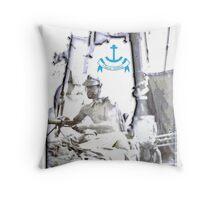 Classic Sailing: Sids Sailing days Throw Pillow
