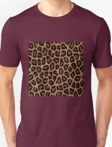 Brown Animal Print Unisex T-Shirt