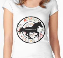 Galloping through summer Women's Fitted Scoop T-Shirt