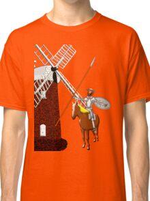 Don Quixote Meets a Giant_T-shirt & leggings Classic T-Shirt