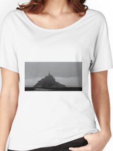 mont st michel Women's Relaxed Fit T-Shirt