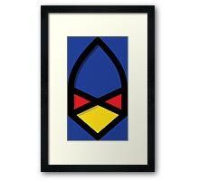 Falco Simplistic Framed Print