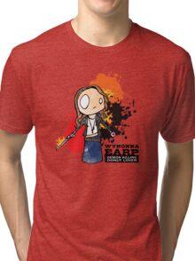 Demon Killing Donut Lover Tri-blend T-Shirt