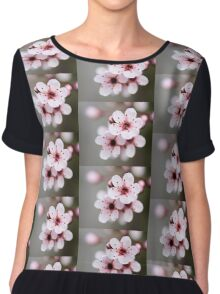 Spring Blossoms Chiffon Top