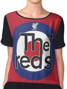 The Reds - Liverpool FC Mods Chiffon Top