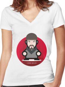 FARGO - LORNE MALVO Women's Fitted V-Neck T-Shirt