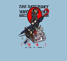 the saturday whovian Unisex T-Shirt