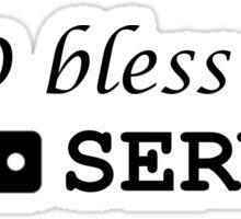 sysadmin GOD bless server Sticker