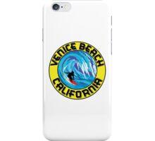 Surfer VENICE BEACH California Surfing Surfboard Waves Ocean Beach Vacation iPhone Case/Skin