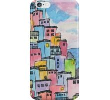 Italian Village on the Sea iPhone Case/Skin