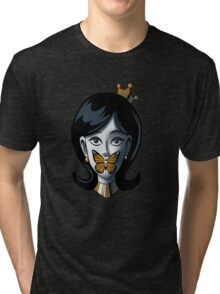the silence of the monarch Tri-blend T-Shirt
