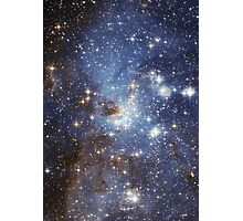 Blue Galaxy Photographic Print