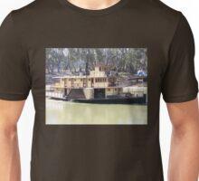 Emmy Lou Paddle Steamer-Echuca Unisex T-Shirt