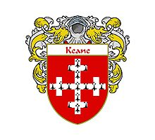 Keane Coat of Arms/Family Crest Photographic Print