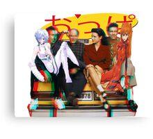 Seinfeld Genesis Canvas Print