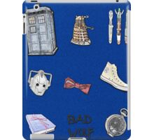 Doctor Who sketch poster iPad Case/Skin