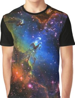 Galaxy Eagle Graphic T-Shirt