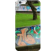 Skate Park in Quito iPhone Case/Skin