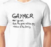 'Gaymer' Unisex T-Shirt