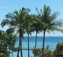 Aloha Hawaii...Waikiki Beach by glennmp