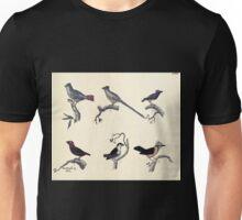Naturgeschichte in Bildern mit erläuterndem Text E Strack 1820 Lief 2 Birds 069 Unisex T-Shirt