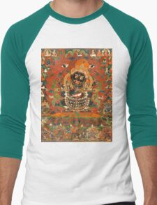 Mahakala Protector of the tent Men's Baseball ¾ T-Shirt