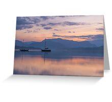 Ullswater Sunset Greeting Card