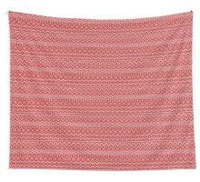christmas seamless knitting pattern Wall Tapestry