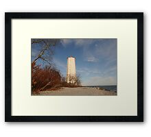 The Presqui'le Lighthouse Framed Print