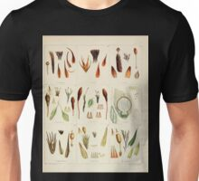 The botany of the Antarctic voyage of H M  discovery ships Erebus and Terror in the Years 1839 1843 Joseph Dalton Hooker V1 044 Unisex T-Shirt