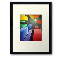 New Heights Framed Print