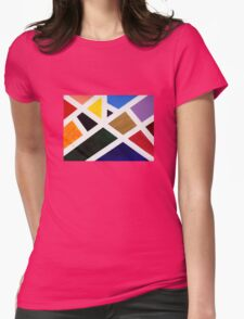 Anne's Abstract  Womens Fitted T-Shirt