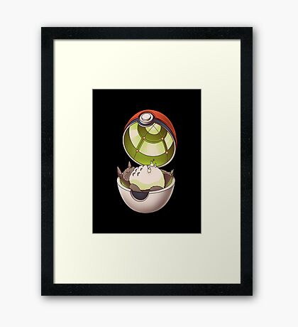 pocket neighbor Framed Print