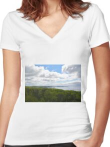 Gitchigumi to Boreal Women's Fitted V-Neck T-Shirt