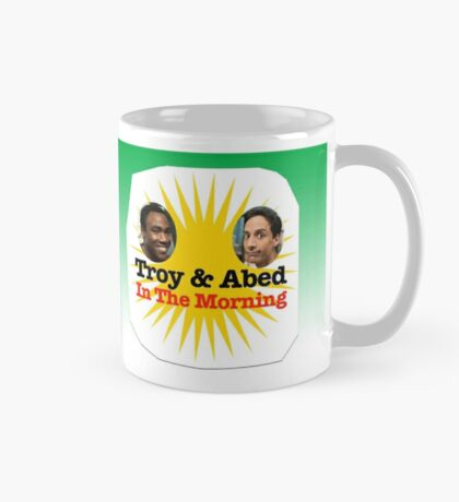 Troy & Abed in the Morning Mug