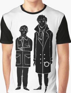 Sherlock and Watson Graphic T-Shirt