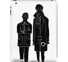 Sherlock and Watson iPad Case/Skin