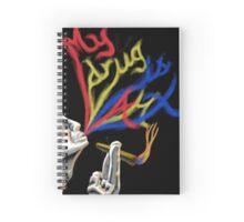 Drug of Choice: Art Spiral Notebook
