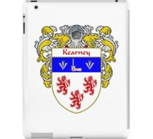 Kearney Coat of Arms/Family Crest iPad Case/Skin
