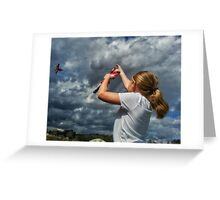 master of the skies Greeting Card