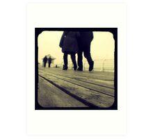 Lover's Walk Art Print