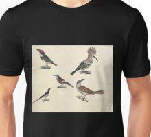 Naturgeschichte in Bildern mit erläuterndem Text E Strack 1820 Lief 2 Birds 044 Unisex T-Shirt