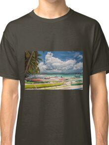 Boracay Beach during Day Time Classic T-Shirt