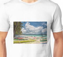 Boracay Beach during Day Time Unisex T-Shirt