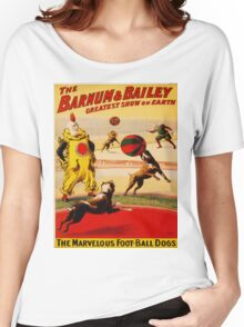 Vintage poster - Circus Women's Relaxed Fit T-Shirt