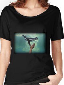 Penguin Toss Women's Relaxed Fit T-Shirt